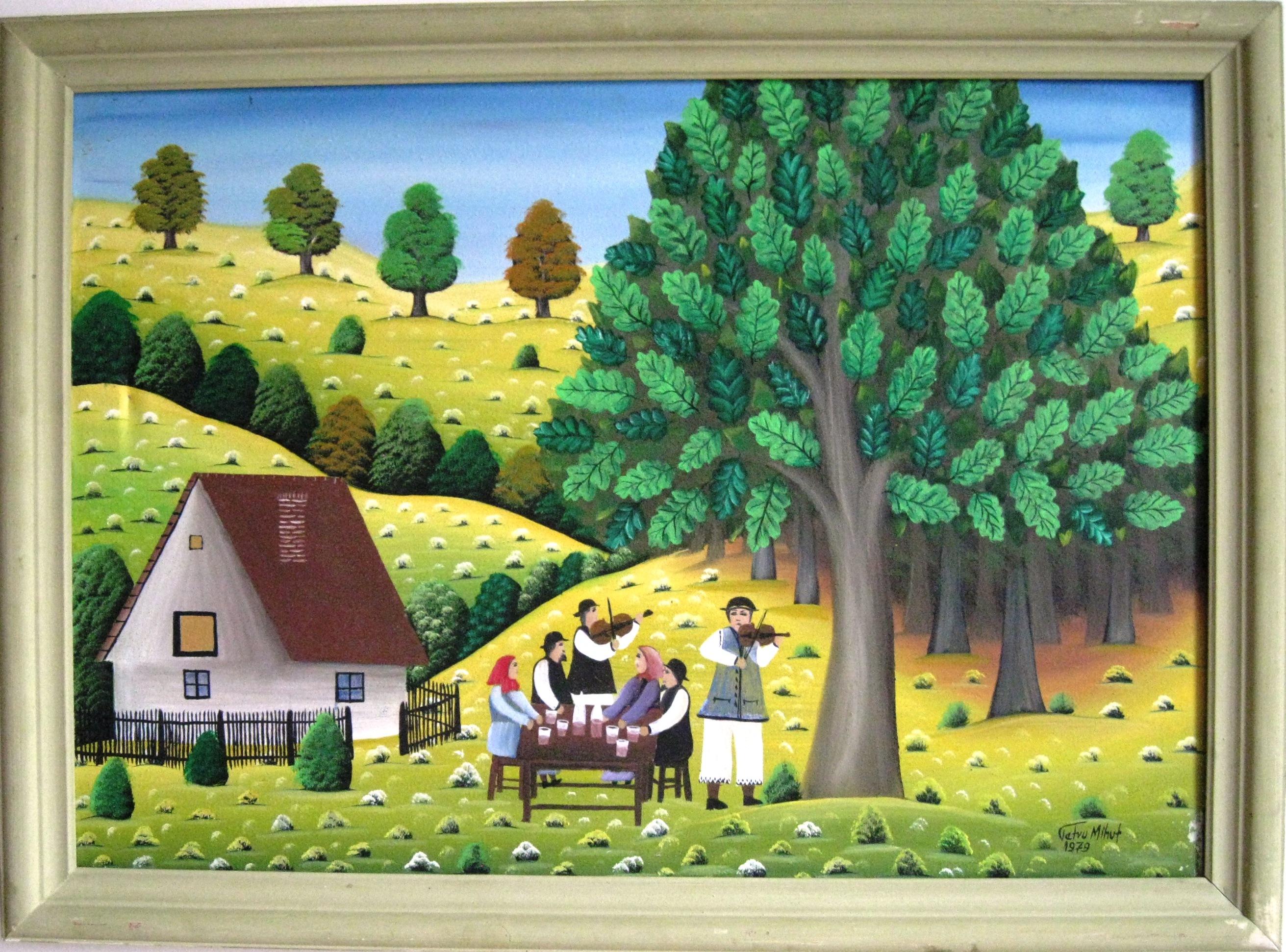 Zeitgenossische Rumanische Malerei Ministerium Fur Kultur Der Ddr